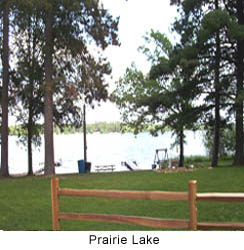 View of Prairie Lake
